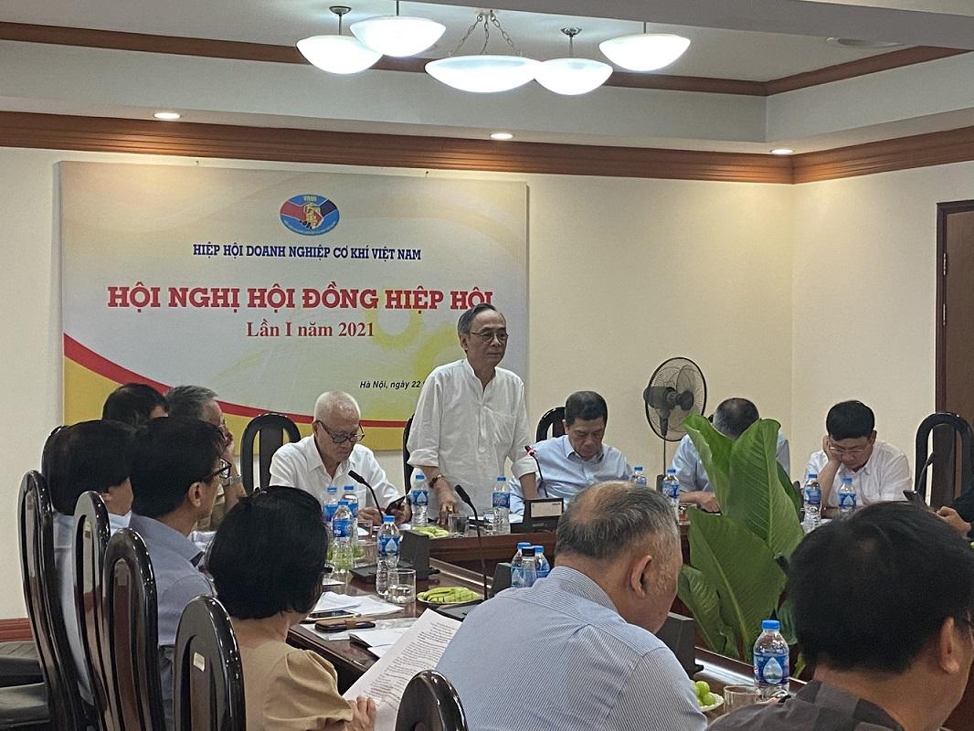 Họp hội đồng Hiệp hội doanh nghiệp cơ khí Việt Nam (VAMI)